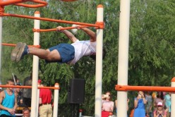 """В Чите открылась площадка уличных физкультурных тренажеров """"Workout"""""""