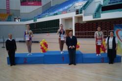 международные китайско-российско-монгольские соревнования по спортивной аэробике.