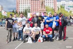Чемпионат силового экстрима Siberian Strong прошел в День города