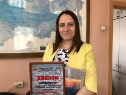 Олеся Шевченко - победитель конкурса в номинации «Ни в какие рамки»