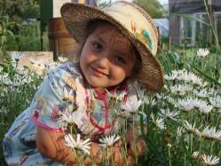 Девочка в ромашках (фото Александра Лыцуся)