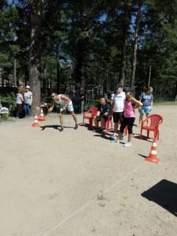 День физкультурника прошел в парке здоровья